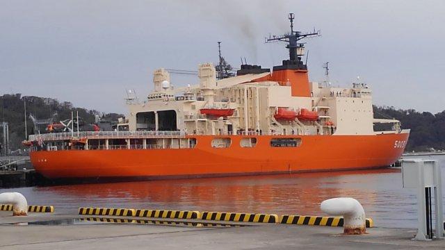 砕氷艦「しらせ」の一般公開。海上自衛隊の船に乗ってきました!!
