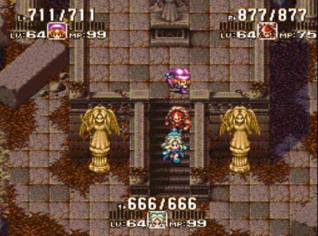 聖剣3の王道パーティーは、主人公アンジェラ、2人目デュラン、3人目シャルロットだよね。【聖剣伝説3】
